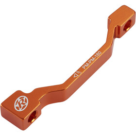 Reverse PM-PM Disc Adapter 180 mm orange